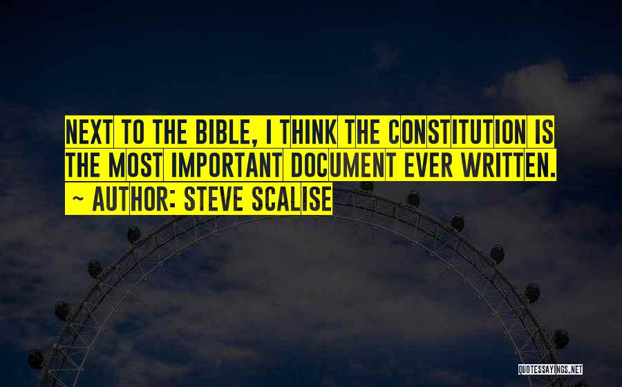 Steve Scalise Quotes 2197046