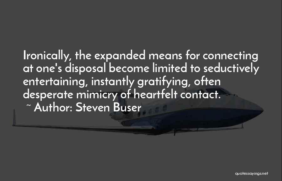 Steven Buser Quotes 1502118