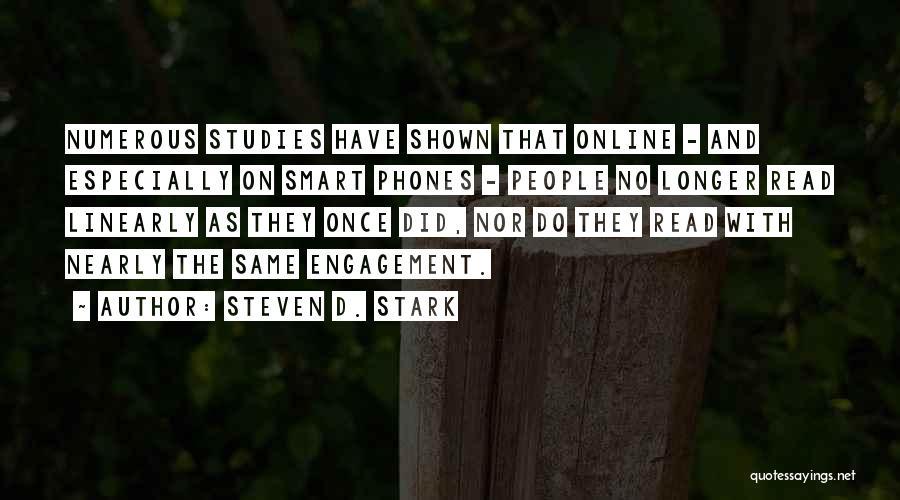 Steven D. Stark Quotes 1621712