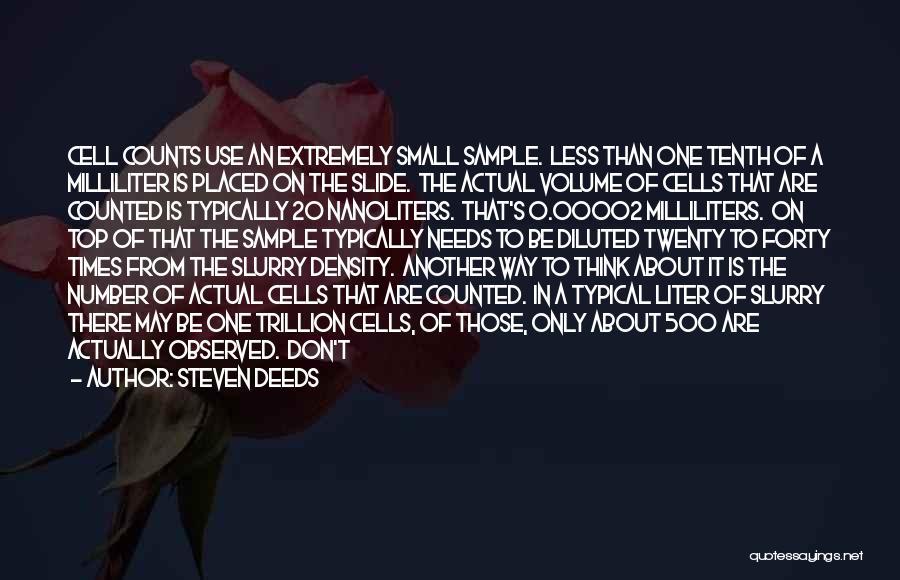 Steven Deeds Quotes 2216763