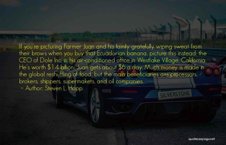 Steven L. Hopp Quotes 971538