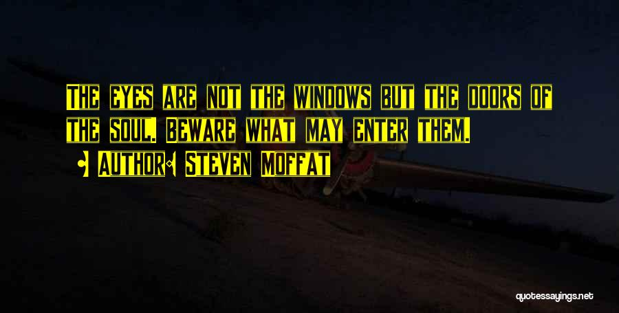 Steven Moffat Quotes 1050817