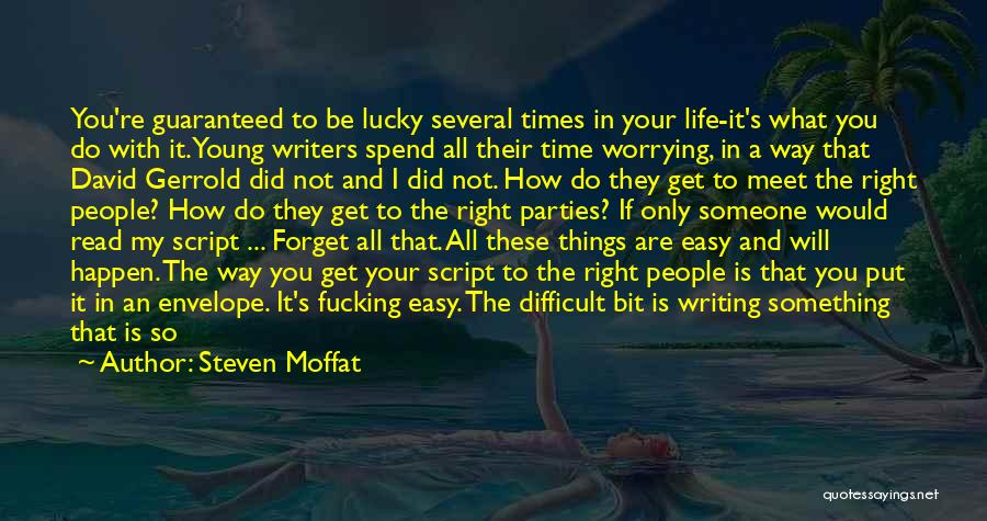 Steven Moffat Quotes 1610315