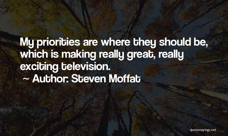 Steven Moffat Quotes 1949288