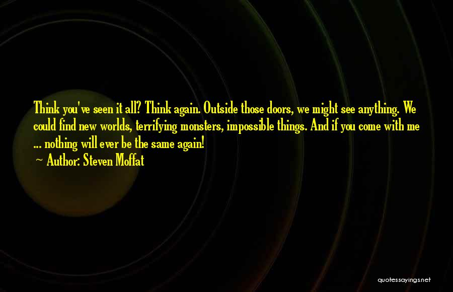 Steven Moffat Quotes 2220927