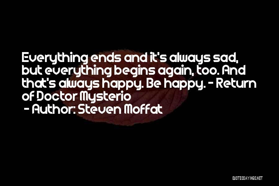 Steven Moffat Quotes 501978