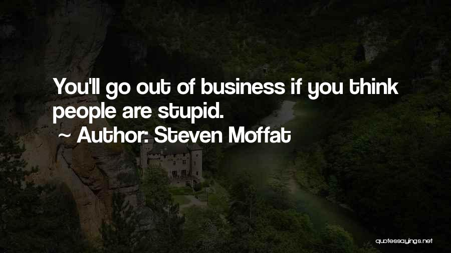 Steven Moffat Quotes 944494