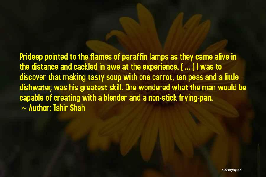 Stick And Carrot Quotes By Tahir Shah