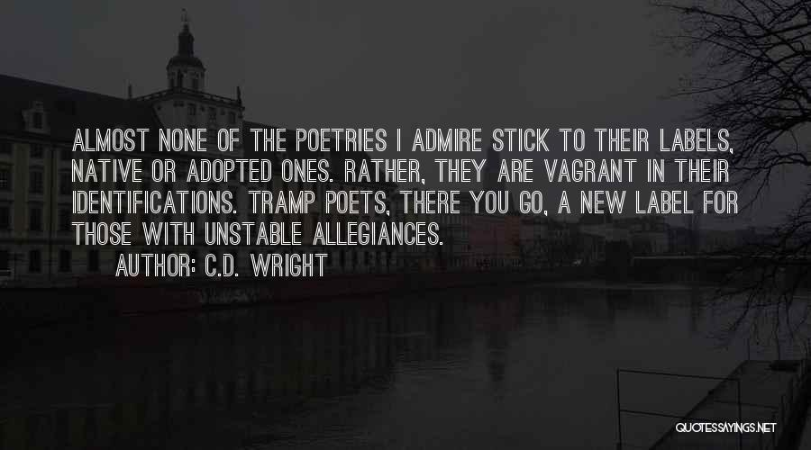 Stick In There Quotes By C.D. Wright