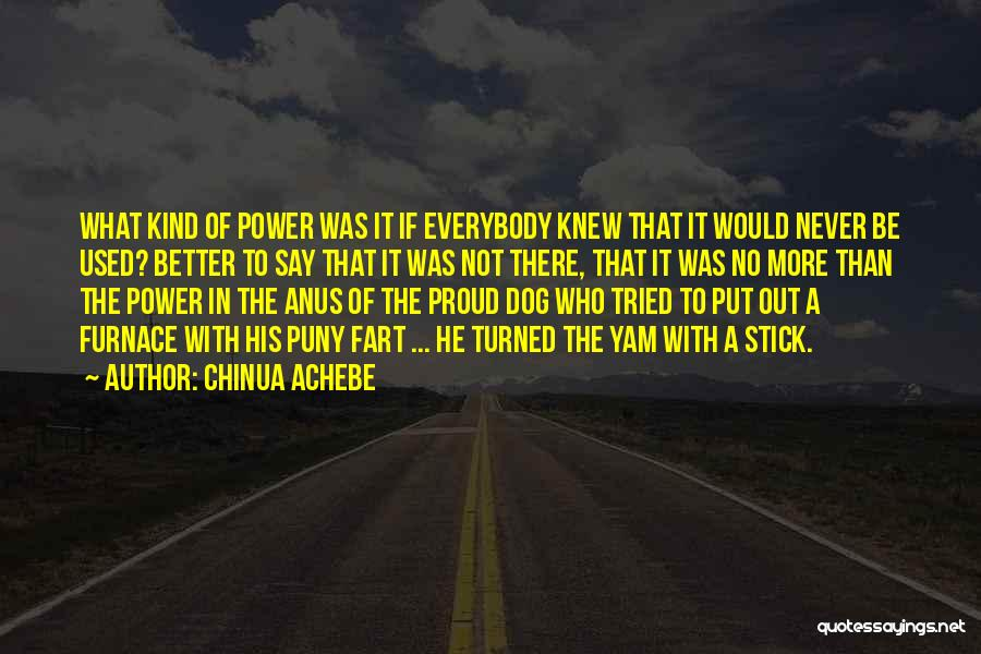 Stick In There Quotes By Chinua Achebe