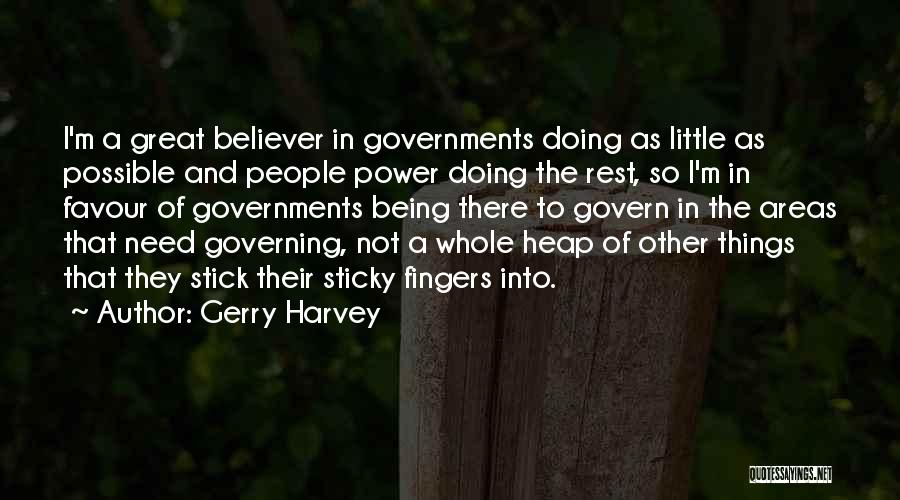 Stick In There Quotes By Gerry Harvey