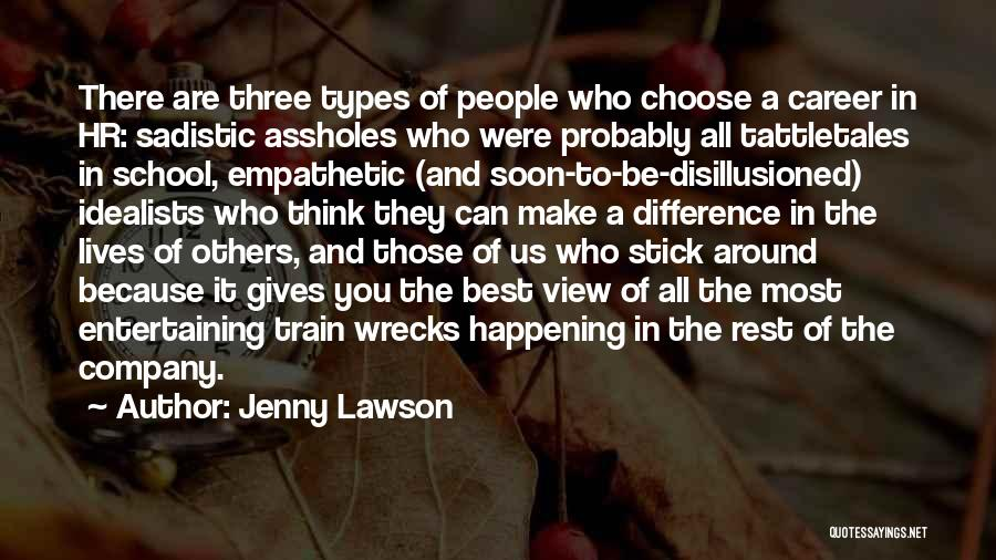 Stick In There Quotes By Jenny Lawson