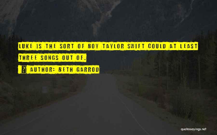 Still In Love With My Ex Boyfriend Quotes By Beth Garrod