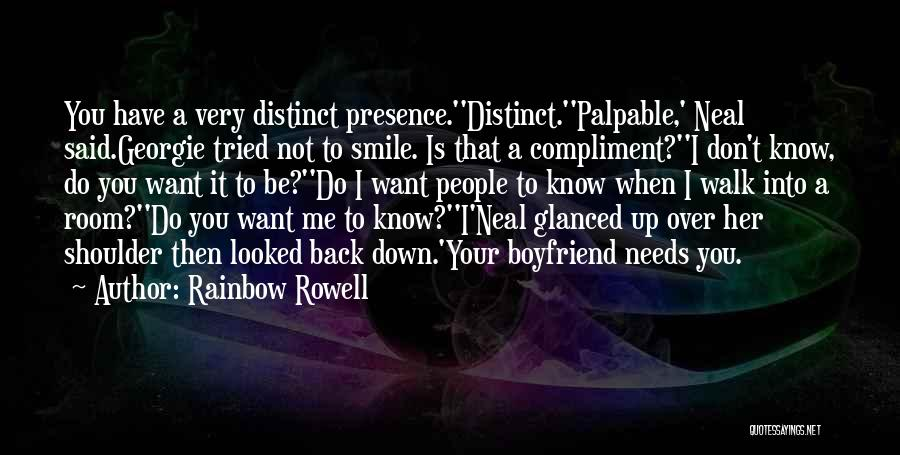 Still In Love With My Ex Boyfriend Quotes By Rainbow Rowell