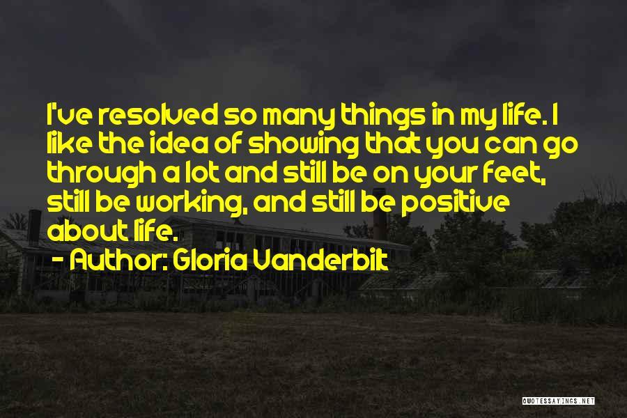 Still Like You Quotes By Gloria Vanderbilt