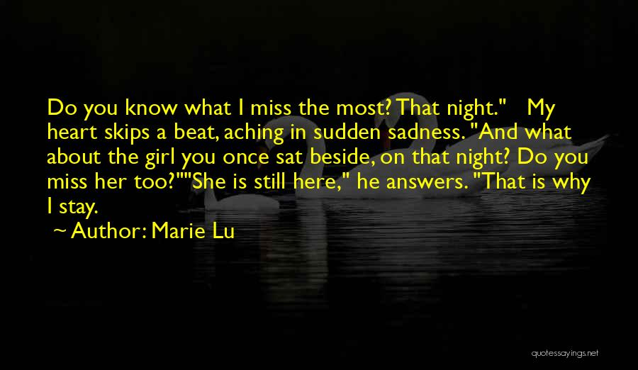 Still Missing Her Quotes By Marie Lu