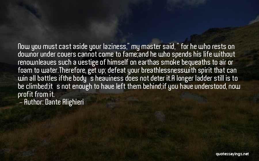 Still Water Quotes By Dante Alighieri