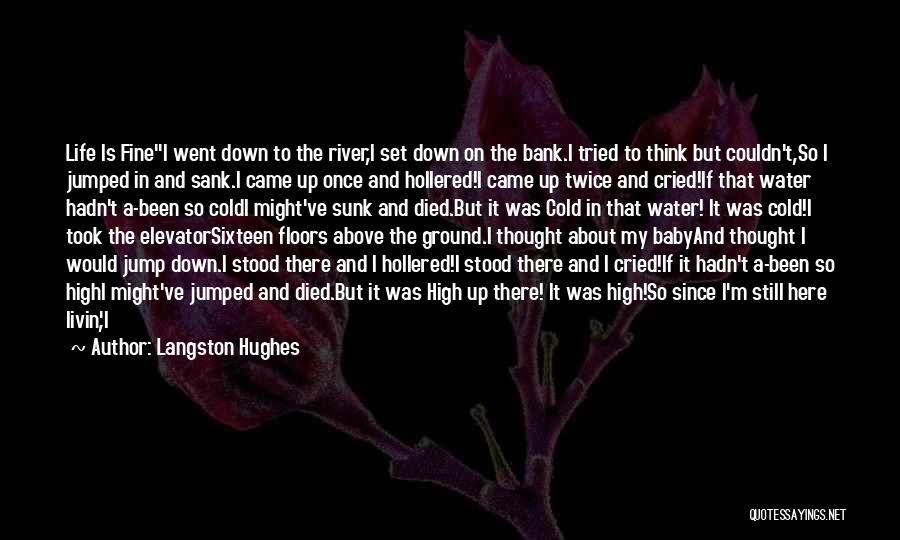 Still Water Quotes By Langston Hughes
