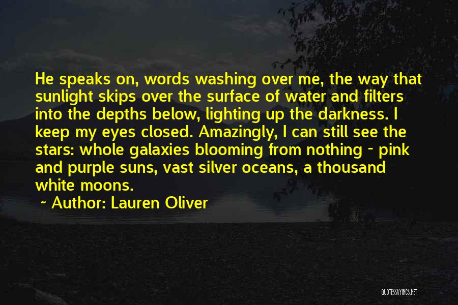 Still Water Quotes By Lauren Oliver