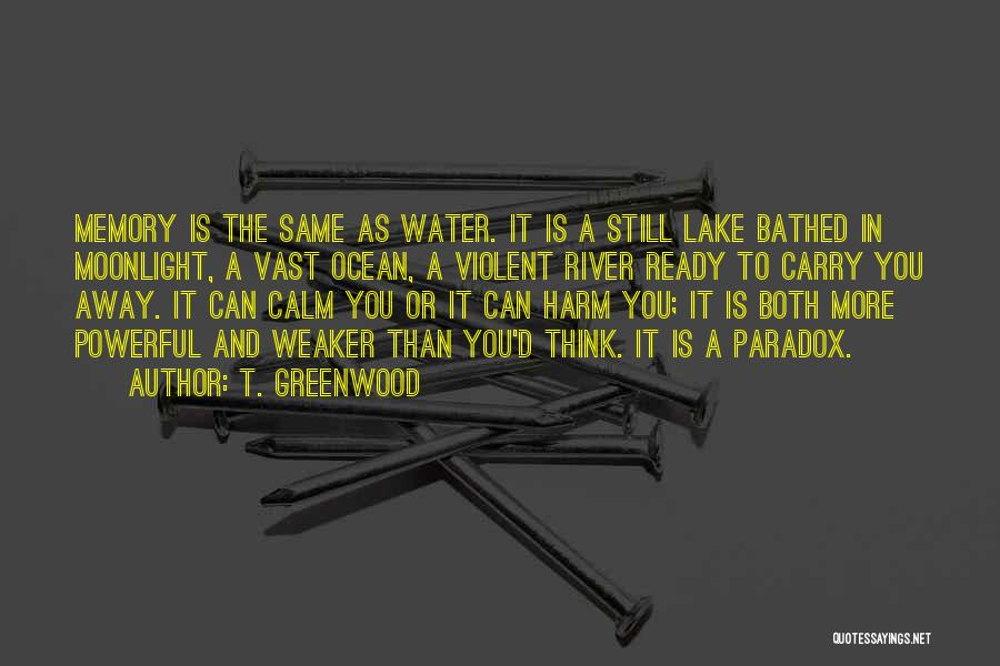 Still Water Quotes By T. Greenwood