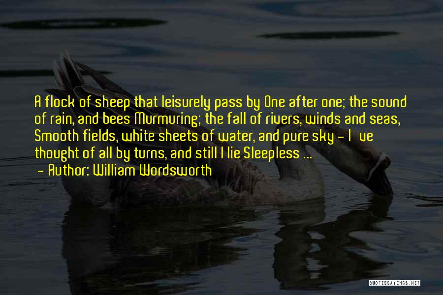 Still Water Quotes By William Wordsworth