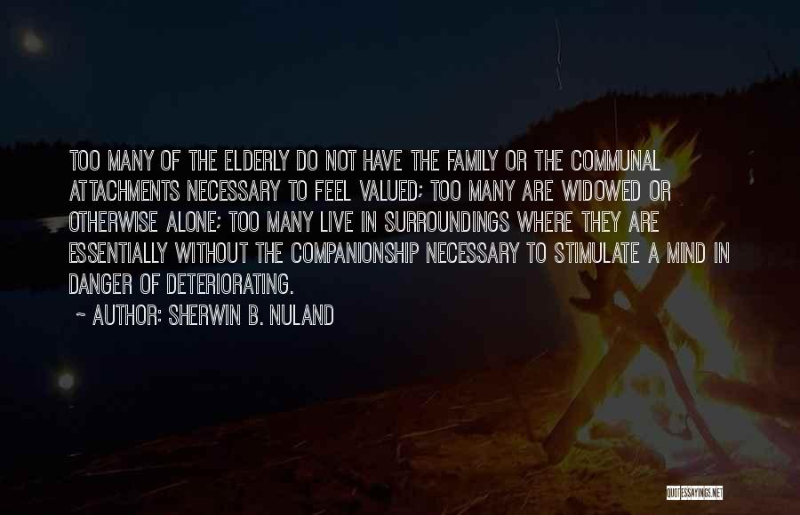 Stimulate The Mind Quotes By Sherwin B. Nuland