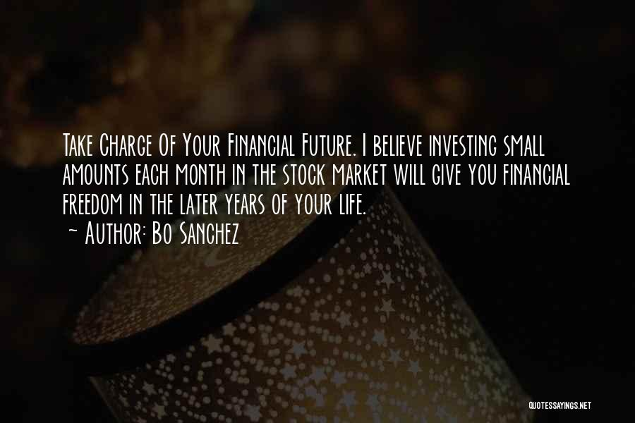 Stock Market Investing Quotes By Bo Sanchez