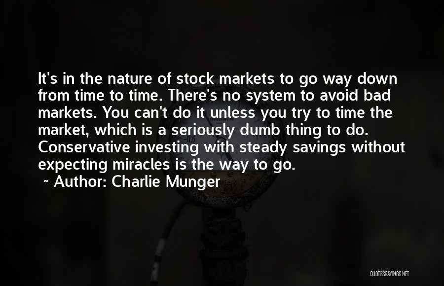Stock Market Investing Quotes By Charlie Munger
