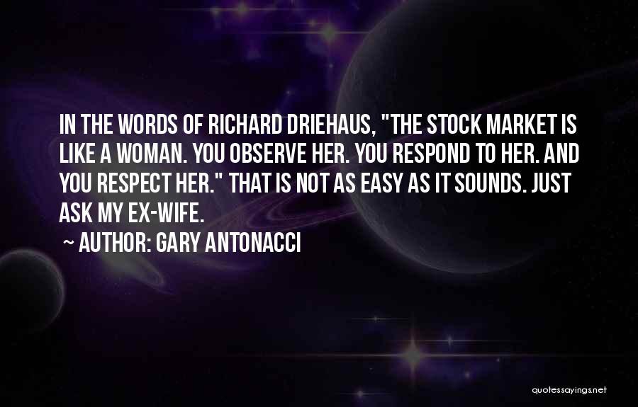 Stock Market Investing Quotes By Gary Antonacci