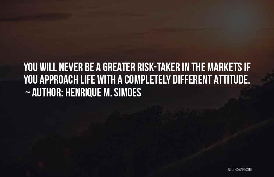 Stock Market Investing Quotes By Henrique M. Simoes