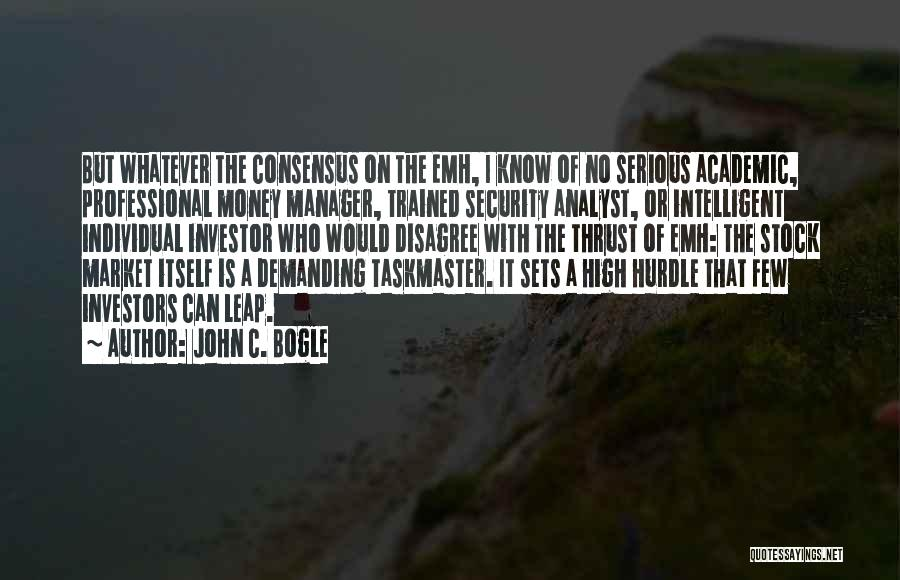 Stock Market Investing Quotes By John C. Bogle
