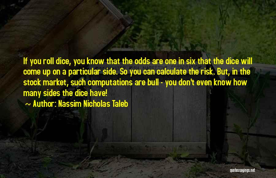 Stock Market Investing Quotes By Nassim Nicholas Taleb