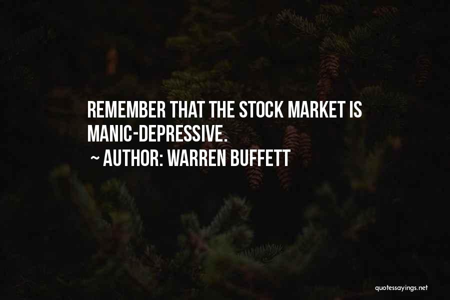 Stock Market Investing Quotes By Warren Buffett