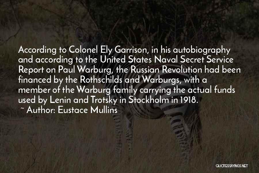Stockholm Quotes By Eustace Mullins