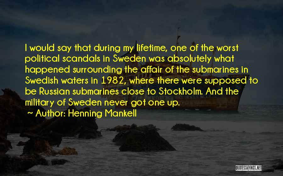 Stockholm Quotes By Henning Mankell