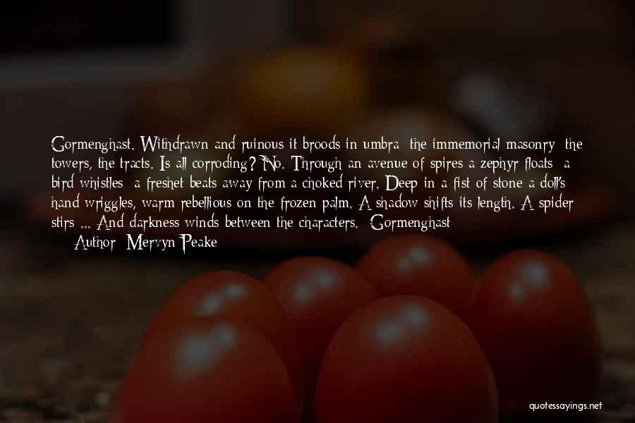 Stone Masonry Quotes By Mervyn Peake