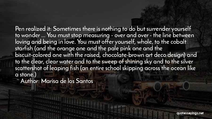 Stone Skipping Quotes By Marisa De Los Santos