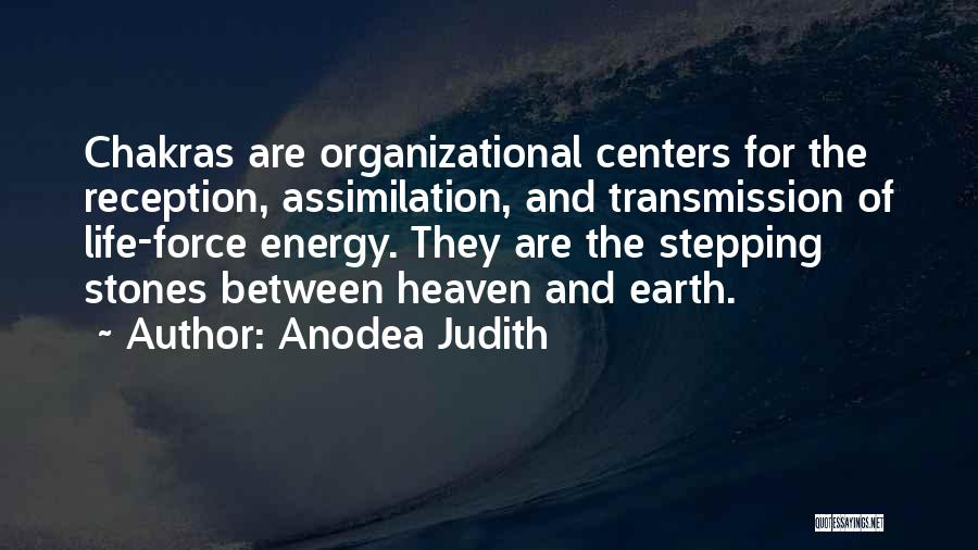 Stones And Life Quotes By Anodea Judith