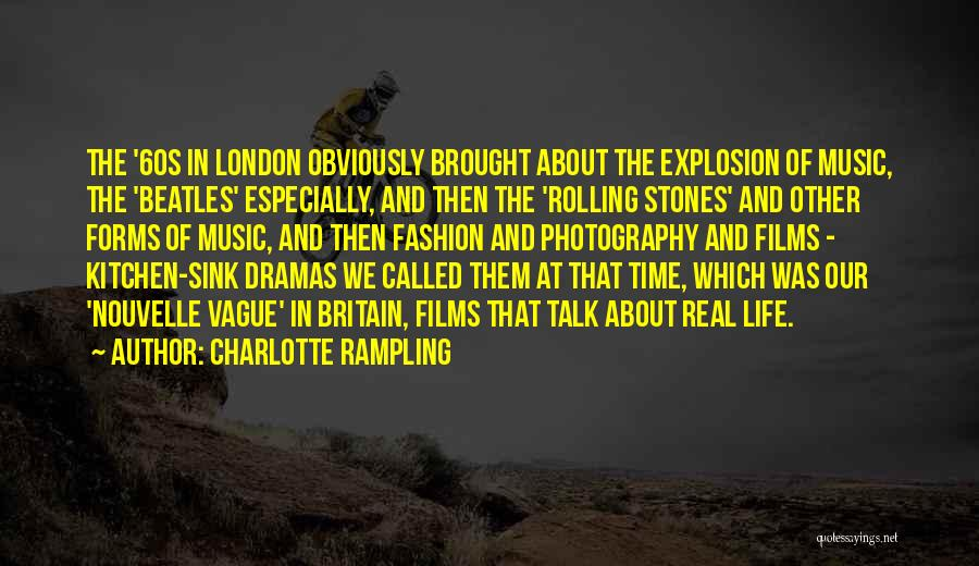 Stones And Life Quotes By Charlotte Rampling