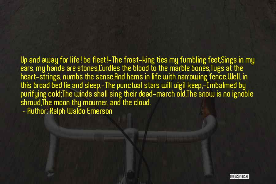 Stones And Life Quotes By Ralph Waldo Emerson