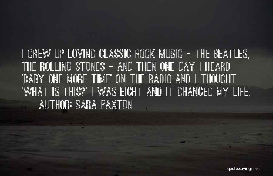 Stones And Life Quotes By Sara Paxton