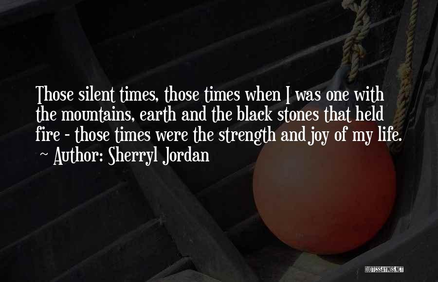 Stones And Life Quotes By Sherryl Jordan