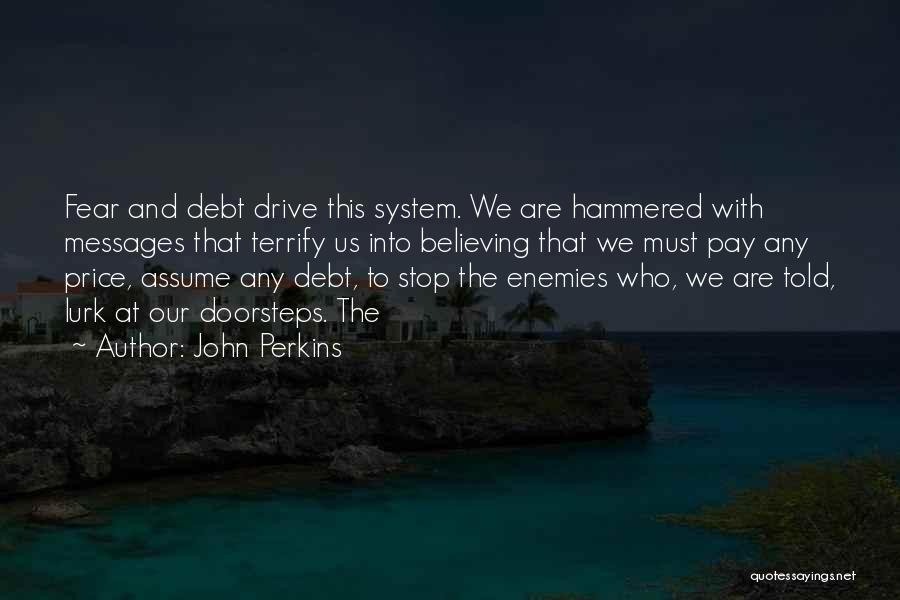 Stop Assume Quotes By John Perkins