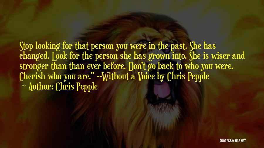 Stop Domestic Abuse Quotes By Chris Pepple