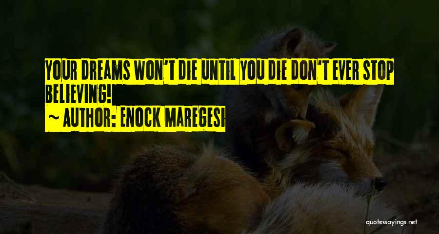 Stop Haters Quotes By Enock Maregesi