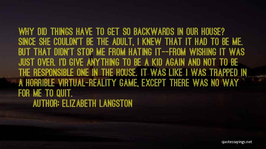 Stop Hating Someone Quotes By Elizabeth Langston