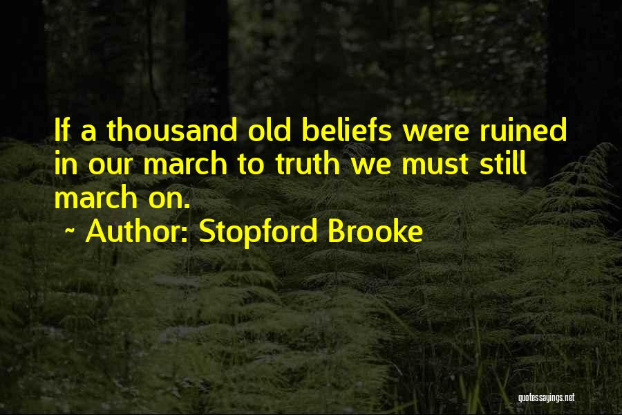Stopford Brooke Quotes 1415416
