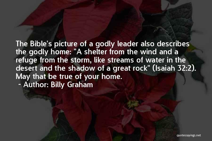 Storm Shelter Quotes By Billy Graham