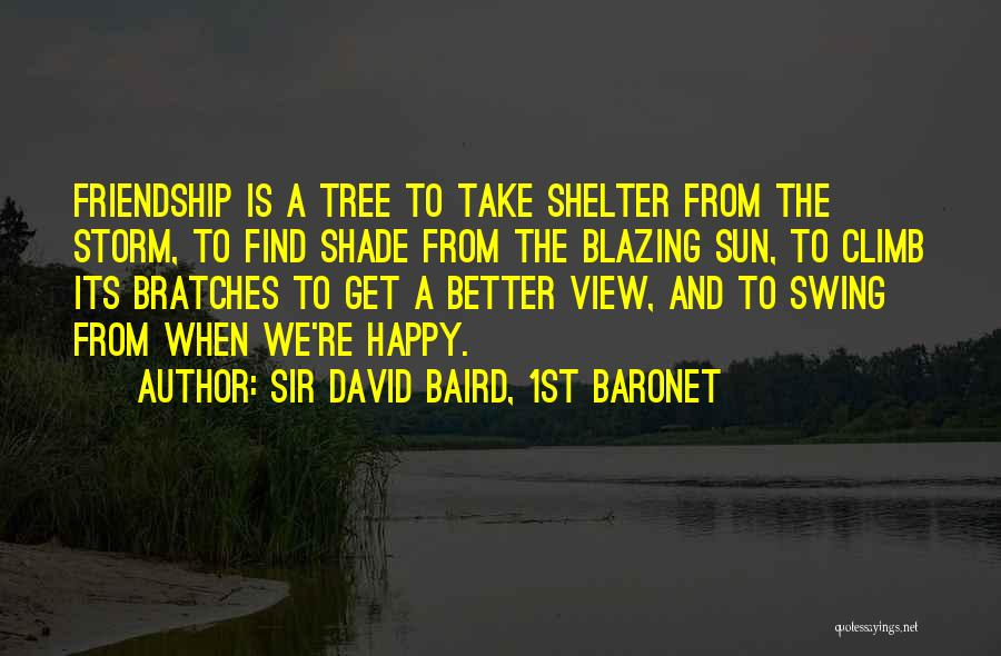 Storm Shelter Quotes By Sir David Baird, 1st Baronet