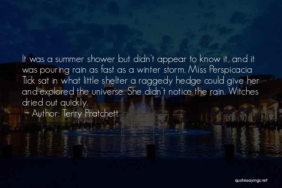 Storm Shelter Quotes By Terry Pratchett